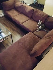 Sofa en L/ divan/ sectionnel