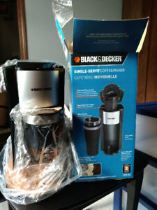 Single Serve Coffee Maker Black&Decker