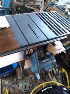10 inch contractors King Table saw