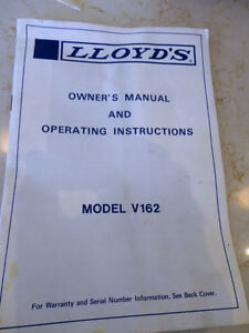 Vintage 1979 Lloyds Owners Manual & I'm Including the Orig. Box Kitchener / Waterloo Kitchener Area image 6
