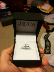 Size 7 Sterling Silver + CZ Stone Ring - Brand New Kitchener / Waterloo Kitchener Area image 5