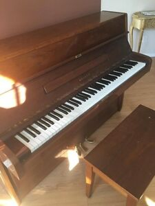 Piano droit Wagner