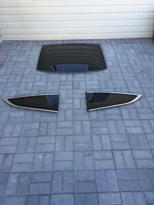 2009 Honda Accord coupe 2 door rear windshield and both sides.