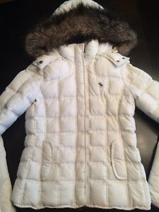 Abercrombie and Fitch down filled jacket.