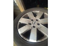 Ford transit connect 16 inch alloys an tyres