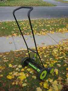 "Lawnmaster 16"" Reel Push Lawn Mower superb cond, used one season Kingston Kingston Area image 1"