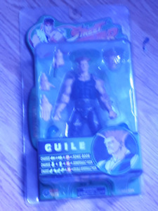 New in box Sota street fighter Guile