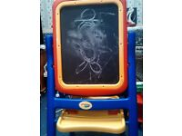 Crayola easel chalkboard whiteboard painting