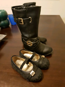Toddler Michael Kors shoes and boots sz 6&7