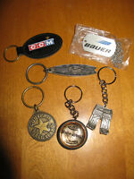 Vintage Sports Key Chains - Rare - Collectable