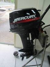 Mercury 15hp 2 stroke motor short shaft Coffs Harbour Coffs Harbour City Preview
