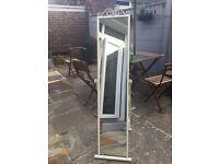 Argos - Scroll Cheval Freestanding Mirror - White