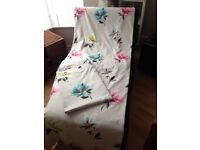 Next bright flower shabby chic lined curtains 66 X 90""
