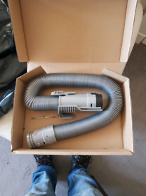 Genuine Dyson Steel Grey Stretch Suction Hose Pipe DC07 Vacuum Cleaner