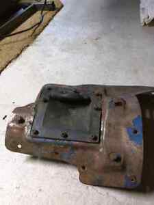 Ford Torino Galaxy Mustang floor manual or auto hump.