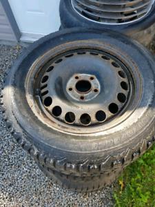 225/60/16 Firestone winter tires