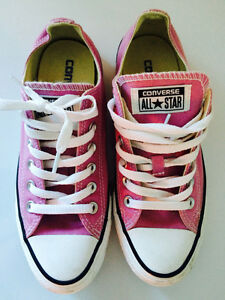 Ladies size 7 Converse - worn once