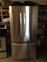 Whirlpool Gold stainless fridge