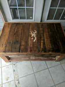 Rustic Browning table