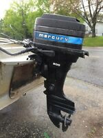 20 hp  Electric Start Mercury Outboard Motor