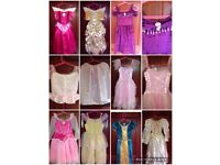 Princess dresses for children / kids (bundle) for sale ages 3-5/6 years approx