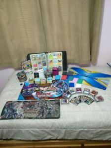 Pokemon and Yu-Gi-Oh Cards