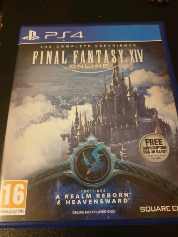 Ps4 Games (Monster Hunter World, Fallout 4, Final Fantasy XIV) | in  Bradford, West Yorkshire | Gumtree