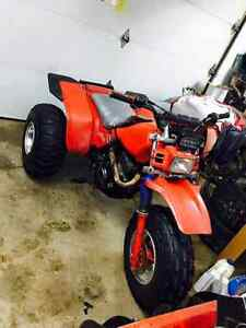 1985 250sx 3 wheeler trade for mxz