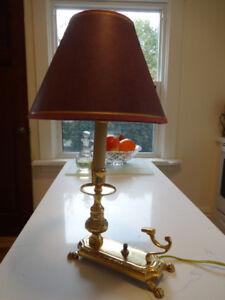 Lamp, Small Brass