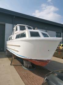 Creighton 26' river cruiser project