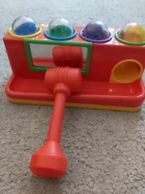 Toy ball bash