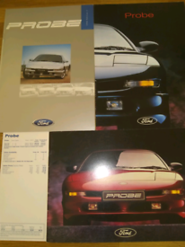 Ford Probe launch brochures and pricelist