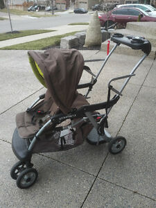 Sit 'N Stand LX Stroller (2 children)
