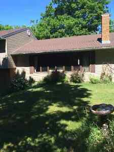 Very private 8 acre County Home