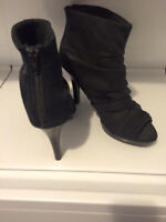 Cute open toed boot style shoes