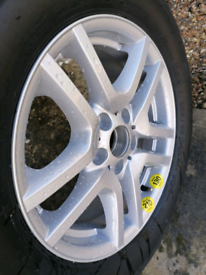 BMW 17 inch WHEEL AND TYRE