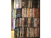 Over 250 DVDs for sale - job lot sale only (£50)
