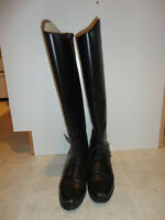Equestrian riding boots - size 5