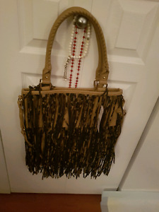 Steve Madden Tote Leopard with tags on