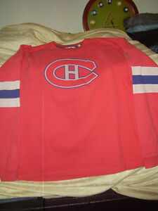 Montreal Canadiens Hockey Team jersey Sweater Richard New