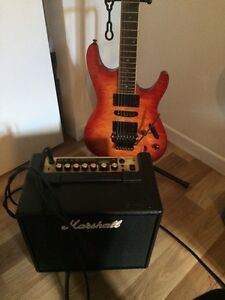 Guitar ibanez s serie +ampli comme neuf