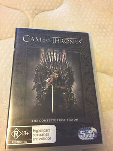 Game of Thrones Season 1 and 2 DVD Set