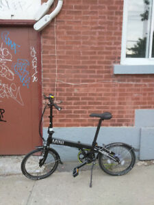 """foldable bike - new condition 18"""""""