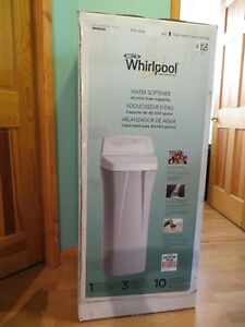 New Whirlpool Water Softener