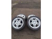 16 inch Fox alloy wheels