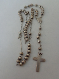 9.25 Silver Rosary