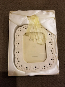 Photo Frame 3x4 Cream Lace - 16 available