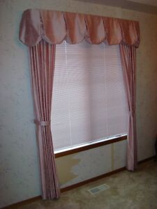Window Dressing - custom made
