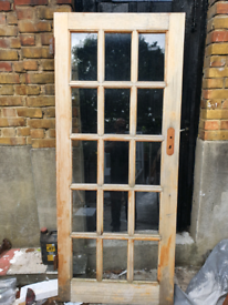 External or internal Door with glass panelling