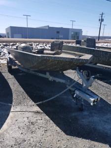 2018 alumacraft 1860 sc with 90HP
